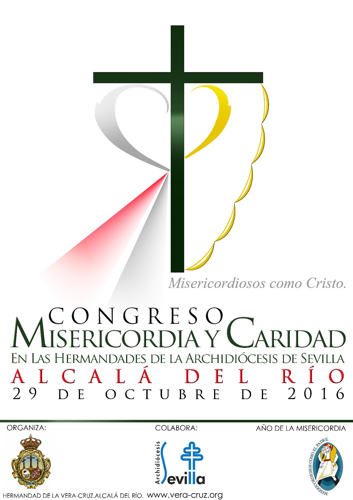 Cartel misericordia caridad
